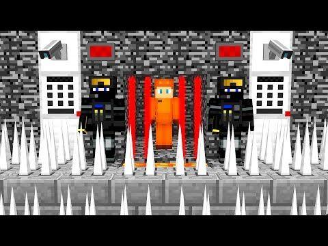 WORLD'S MOST SECURE PRISON! (MINECRAFT PRISON ESCAPE) - YouTube
