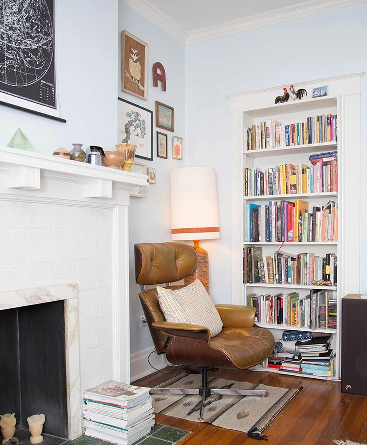 Home Library Design Ideas You Must See: 15 Must-see Book Corners Pins