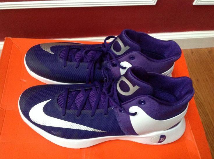 Nike KD Trey 5 IV Purple Basketball Shoes 856484-551 Kevin Durant Size 15 RARE  #Nike #AthleticSneakers