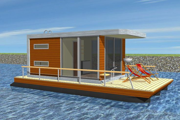 Houseboats & Floating Homes by PEREBO - individual solutions for you