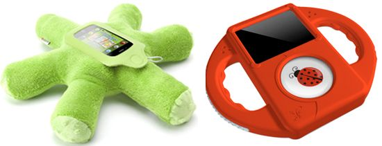 Plush and Durable iPod Holders Protect Tech From Tots - www.lilsugar.com