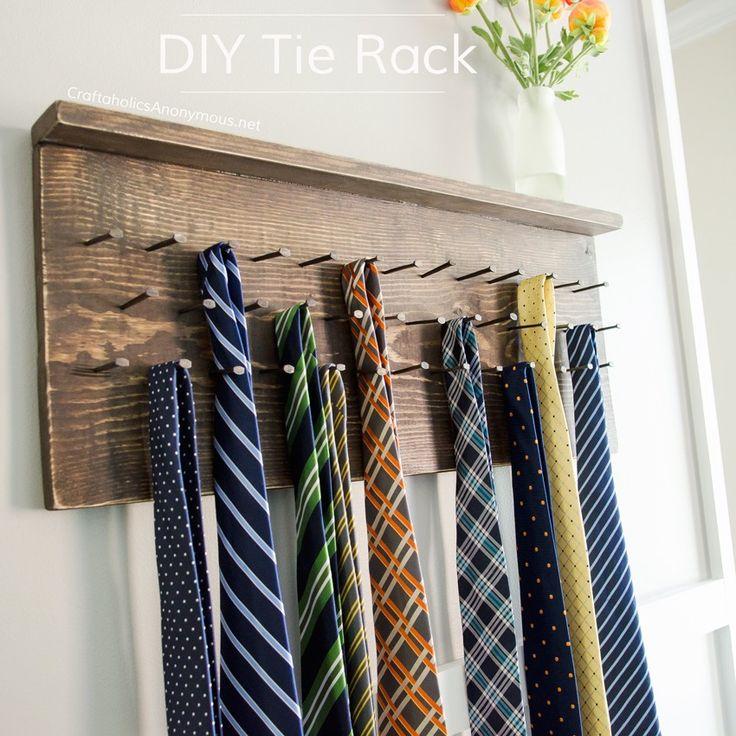 Best 25+ Tie Rack Ideas On Pinterest
