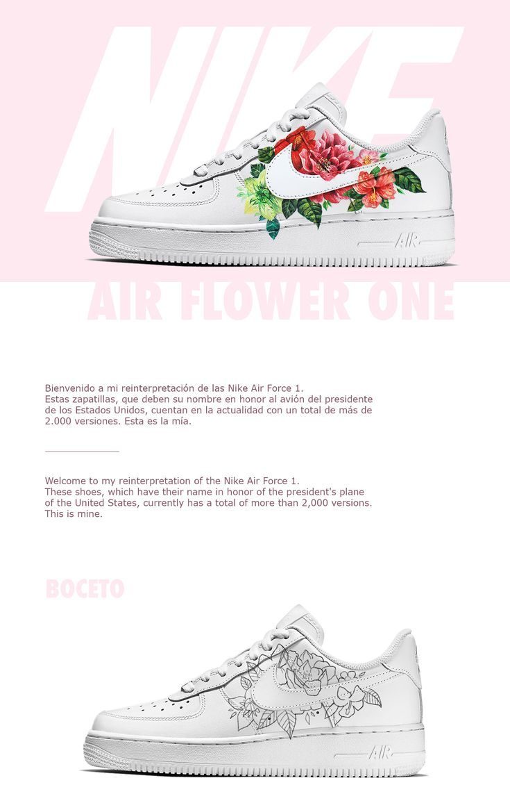 """Take a look at this @ Behance project: """"Custom Nike Air Flower 1"""" www.behance …"""
