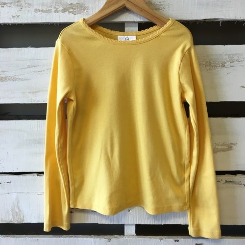 Hanna Andersson Buttercup Very Gud Tee