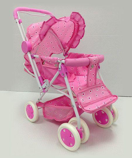Reversible Doll Stroller Kids Baby Doll Strollers