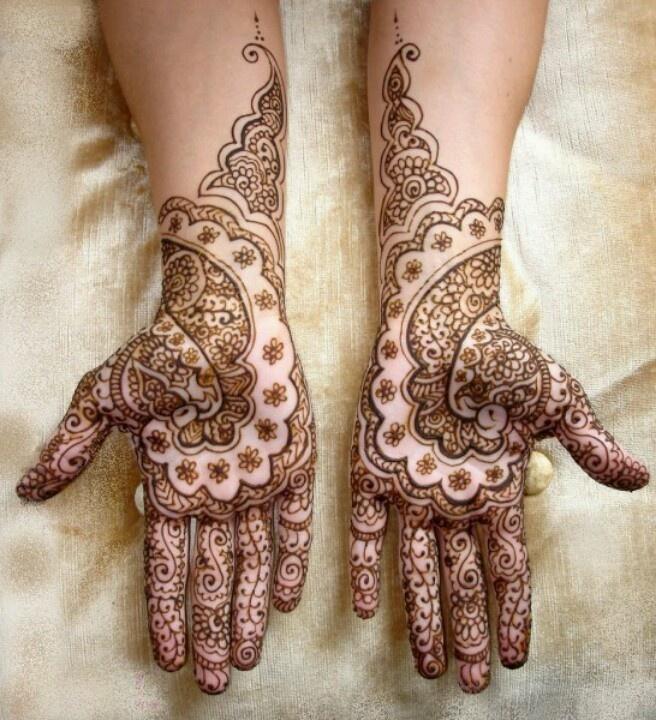 So pretty henna!
