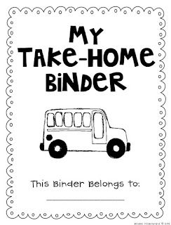 Once Upon a First Grade Adventure: Student Binder Freebies :)
