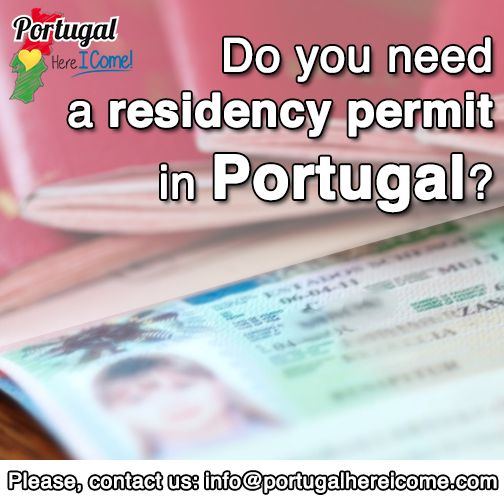 Get a residency permit in Portugal. #portugal #portugalhereicome