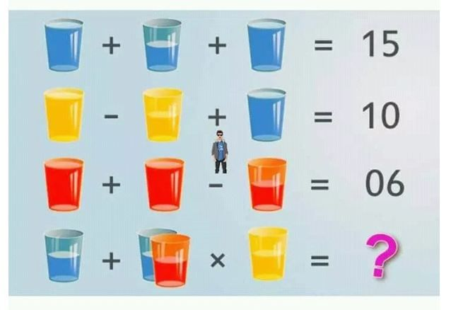 Can You Solve The Water Glass Puzzle Puzzle Id 123 Maths Puzzles Math Puzzles Brain Teasers Brain Math