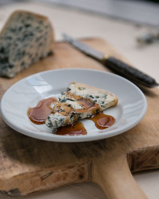 Gastrique: A tangy vinegar and honey-based French sauce, perfect with cheese & roasted meat