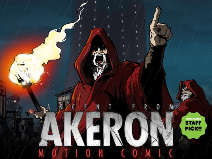 Ascent from Akron is a unique interactive motion comic of 12 episodes. The first episodes are almost finished. Check us out! #Kickstarter #SubmarineChannel #MotionComic #graphicnovel #animation