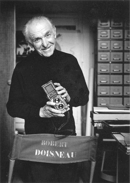 Robert Doisneau the man himself