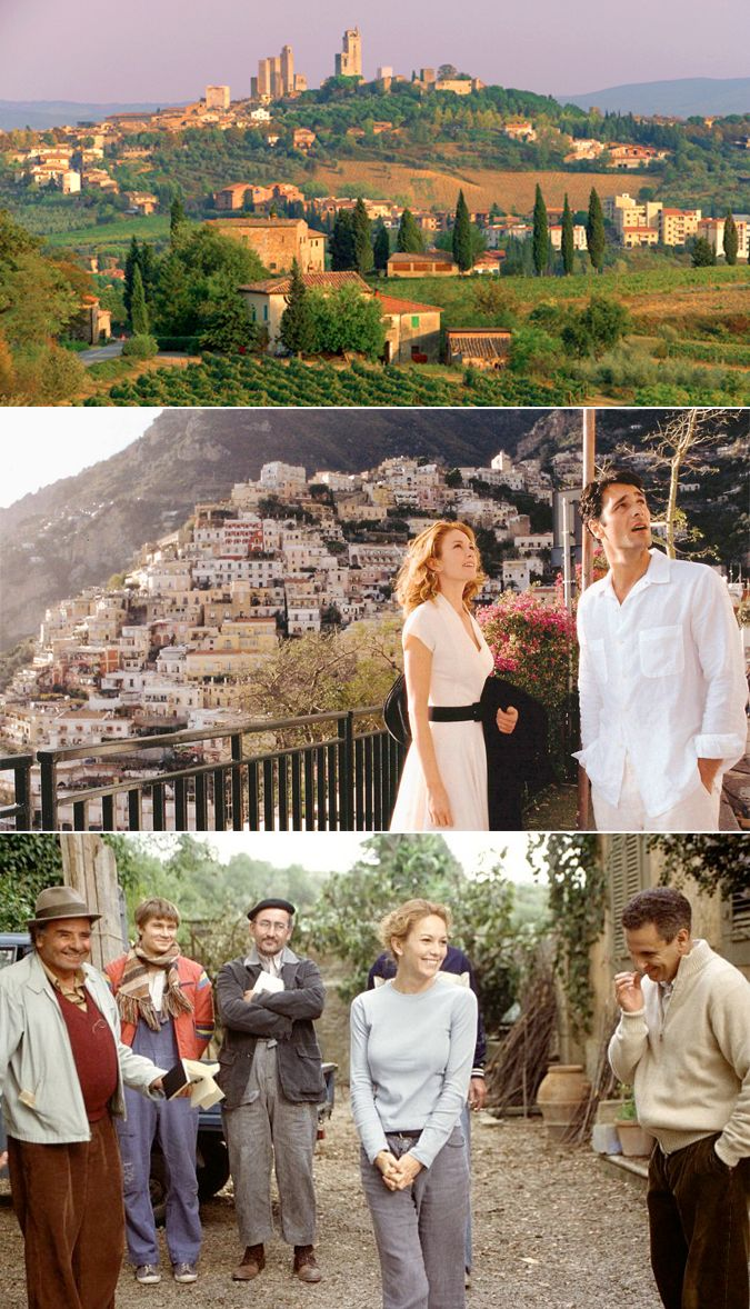 Chelsea The City Scene It Under Tuscan Sun Movie Style Guide