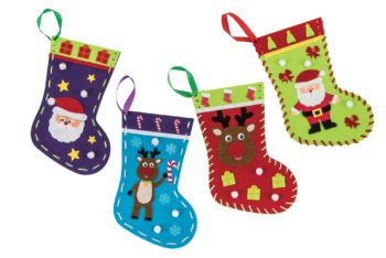 Create your very own Christmas stocking!