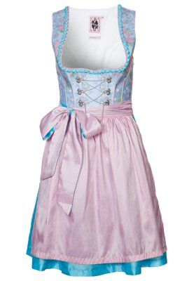 Dirndl - blue. One day, I'll become a German princess ♥