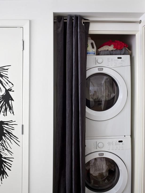 lifestyle loft design tips - Small Washer And Dryer
