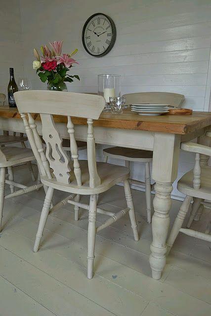 Las 25 mejores ideas sobre mesas de cocina antiguos en for Cocinas viejas reformadas