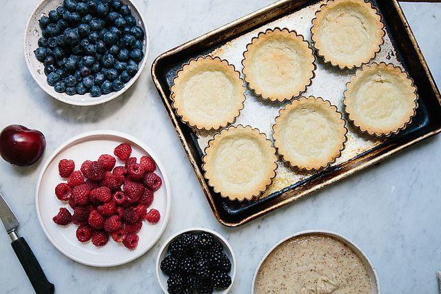 frangipane tarts on @Food52 by yossy arefi