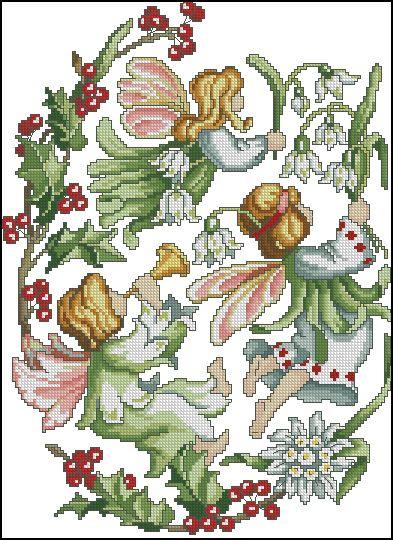 Hadas de las Flores - Diciembre