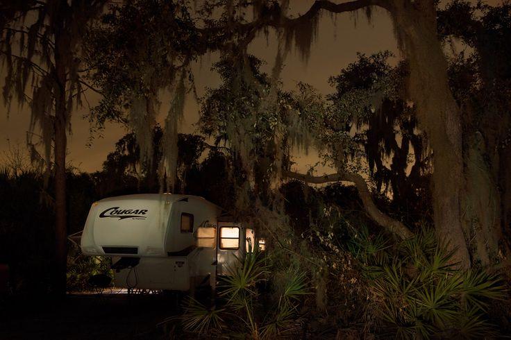 Camping story, Frank Hallam Day