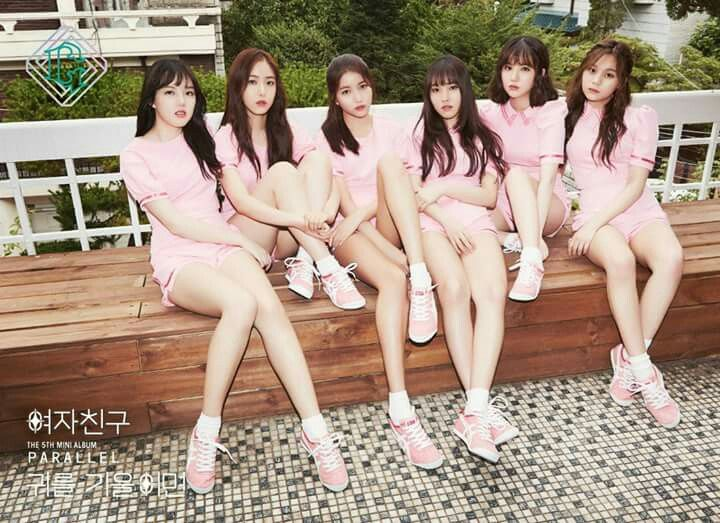 """Gfriend's new album - The 5th mini album """"PARALLEL"""" with title song """"LOVE WHISPER"""""""
