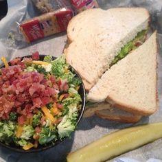 Souplantation/Sweet Tomatoes Copycat Recipes: Broccoli Salad at Chicken Salad Chick
