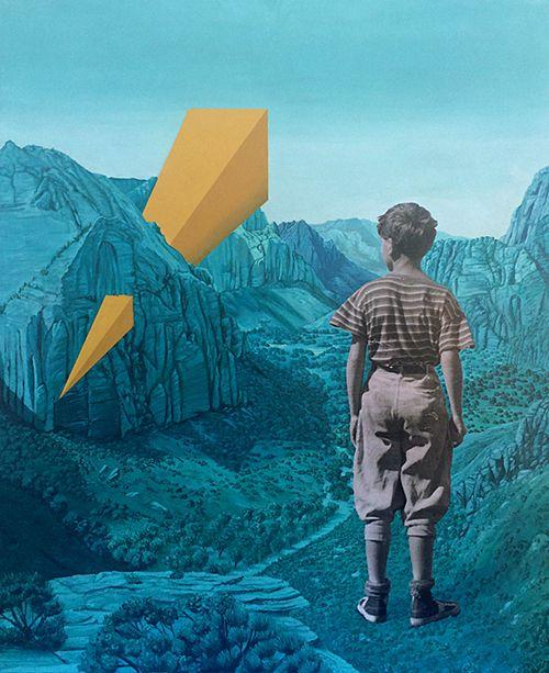 El surrealismo costumbrista de © Marcos Martínez | Collage | Cóctel Demente