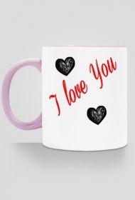 I LOVE YOU-  kubek kolor