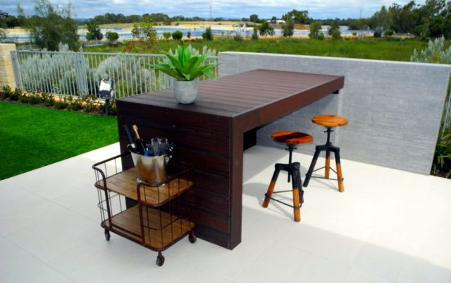 Trex Decking Waterford Display- Lava Rock