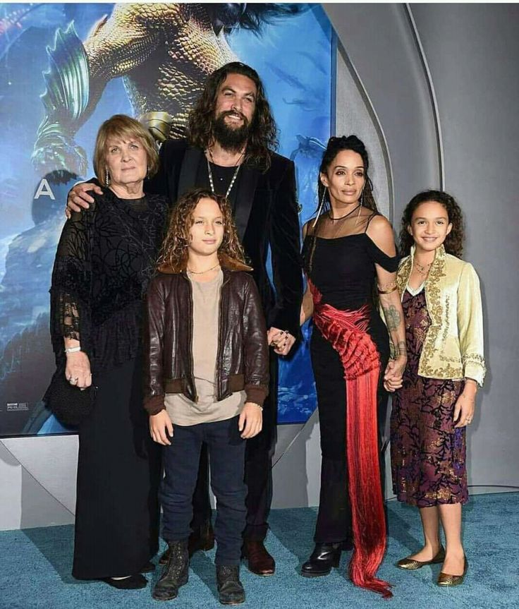 Jason Mamoa/ Lisa Bonet & Family