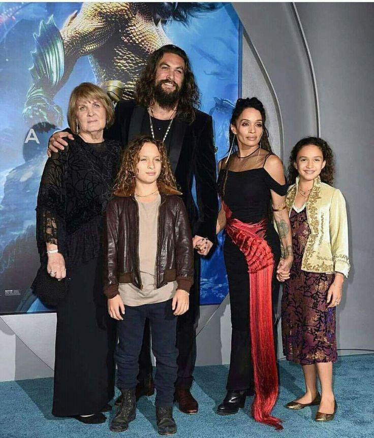 Jason Mamoa/ Lisa Bonet & Family