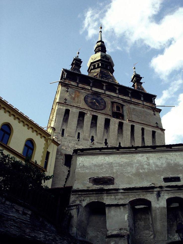 Clock Tower in Sighisoara by mircea.fotograf.az