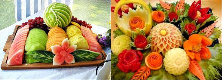 Красивые десертный стол с фруктами Видео Фото