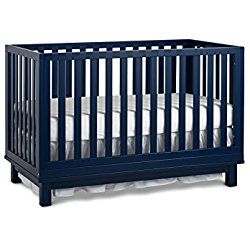 Fisher-Price Riley 3-in-1 Convertible Crib, Navy