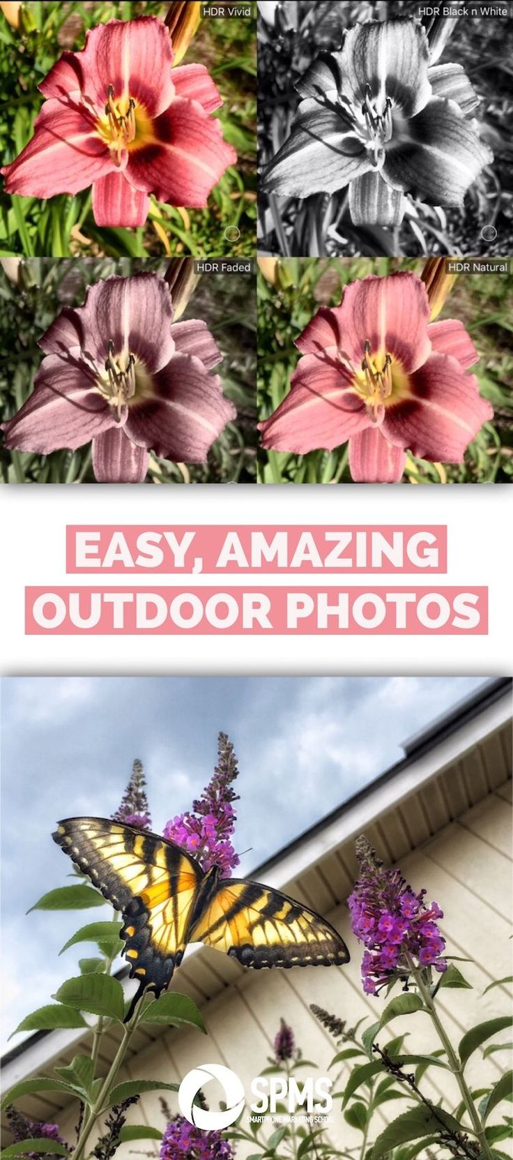 Learn to use the HDR tool in the ProCamera for instantly amazing outdoor photos