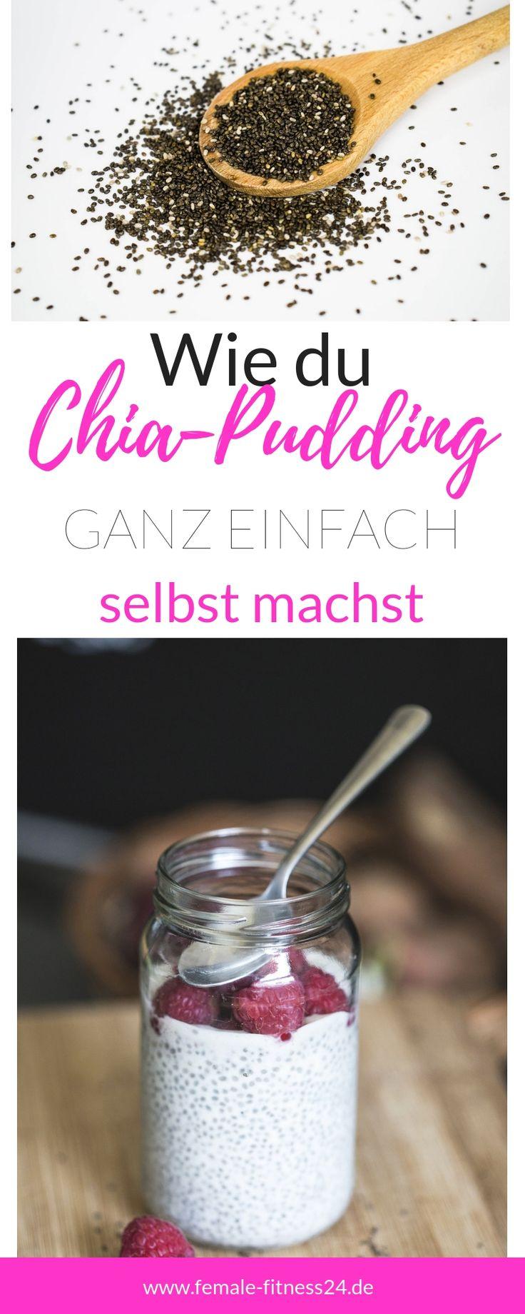 Grundrezept Chia Pudding! Mit diesem Rezept haben Sie immer Abwechslung …   – Blog-Posts female-fitness24.de
