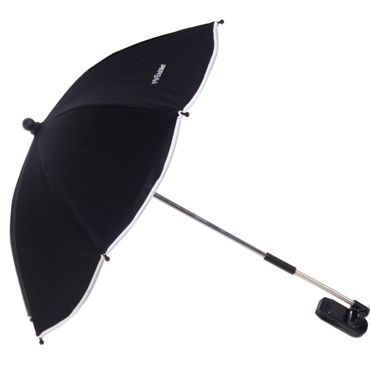 My Babiie black pushchair parasol