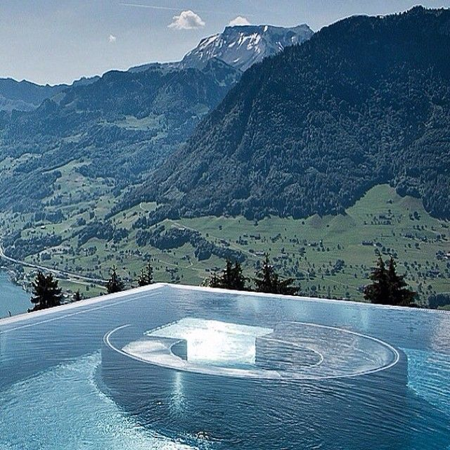 rooftop pool rooftops and switzerland on pinterest. Black Bedroom Furniture Sets. Home Design Ideas