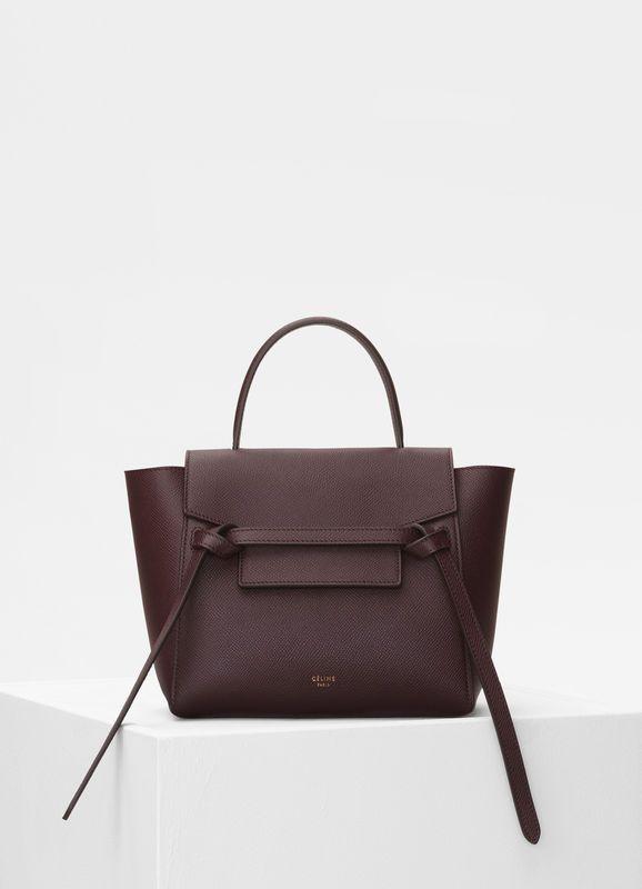 Nano Belt bag in grained calfskin  dd1ceaa75bd87