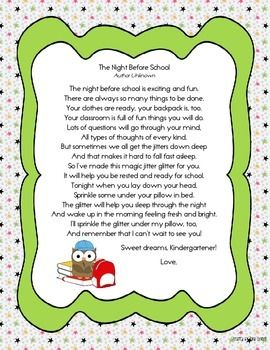 Crafty image regarding jitter glitter poem printable
