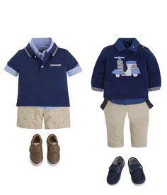 ღ¸.•❤ 2 conjuntos de roupa para rapazinhos