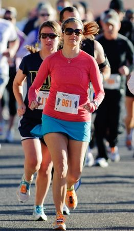 Running coach Kathy Pugh learned to run an eight-minute mile with the help of EZ8, a national running program geared toward women. Photograph by Kevin Thompson. Believe it or not, even the most avid runners couldn't run a mile under...