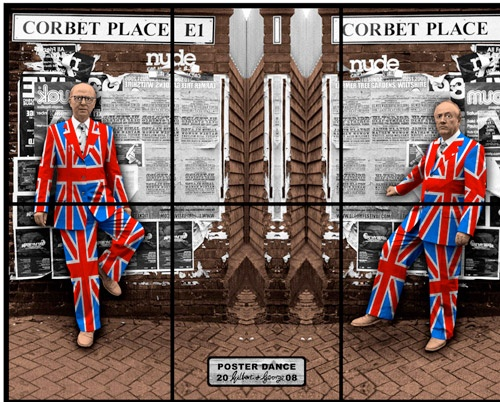 Gilbert & George - Poster Dance