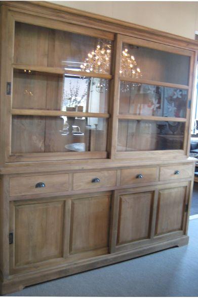 Series Buffetkast Teak Oud Hout - 't Veurhuus Nostalgisch Wonen - product_detail buffetkast_teak_oud_hout 1397