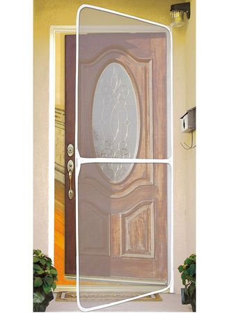 how to make a removable screen door