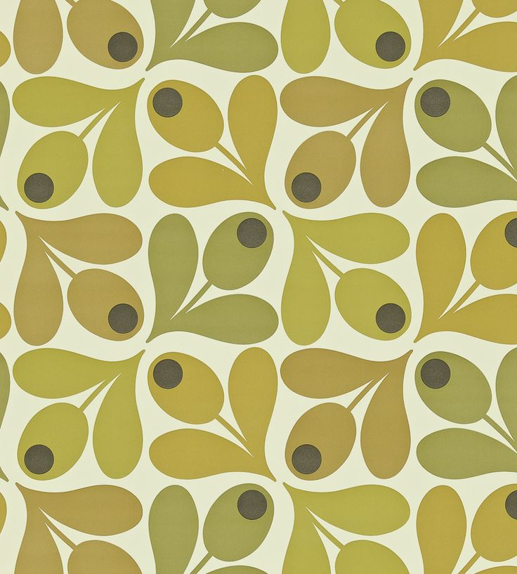 70s Interior Design Revival   Multi Acorn Spot Wallpaper by Harlequin   Jane Clayton