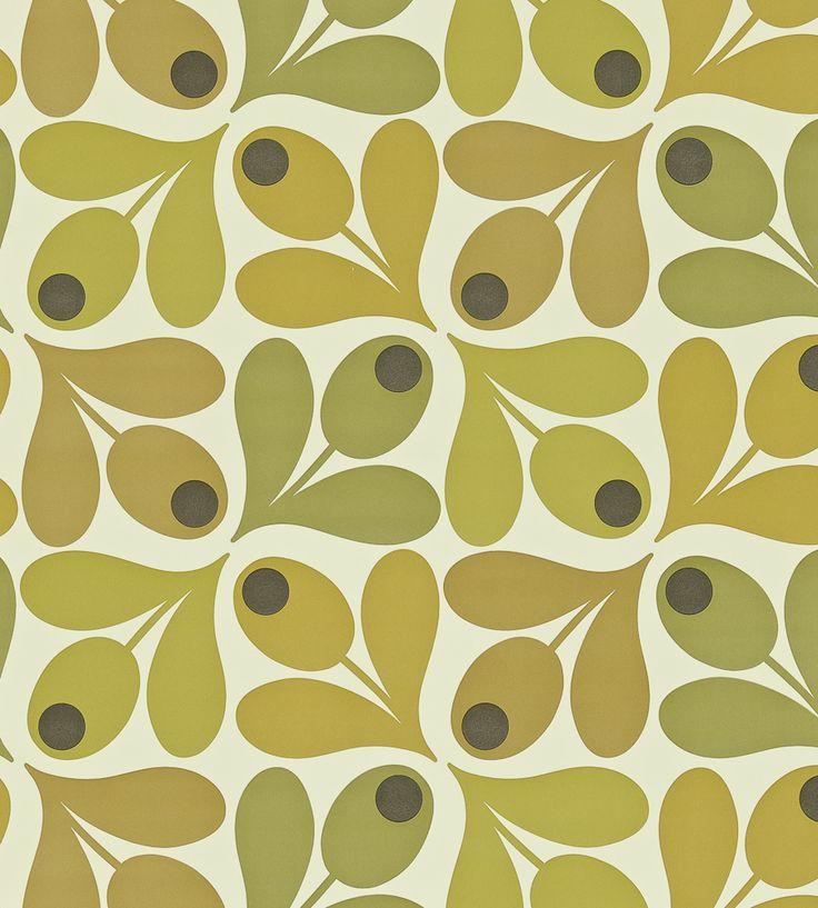 70s Interior Design Revival | Multi Acorn Spot Wallpaper by Harlequin | Jane Clayton