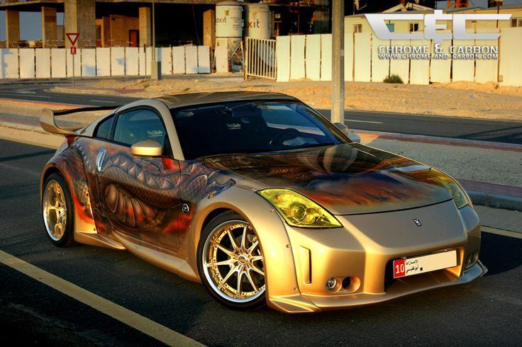 Chrome & Carbon Nissan 350Z VeilSide Dragon Exclusive