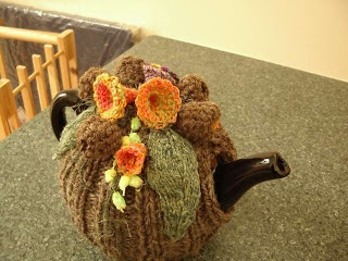 spin to knit: tea cosies