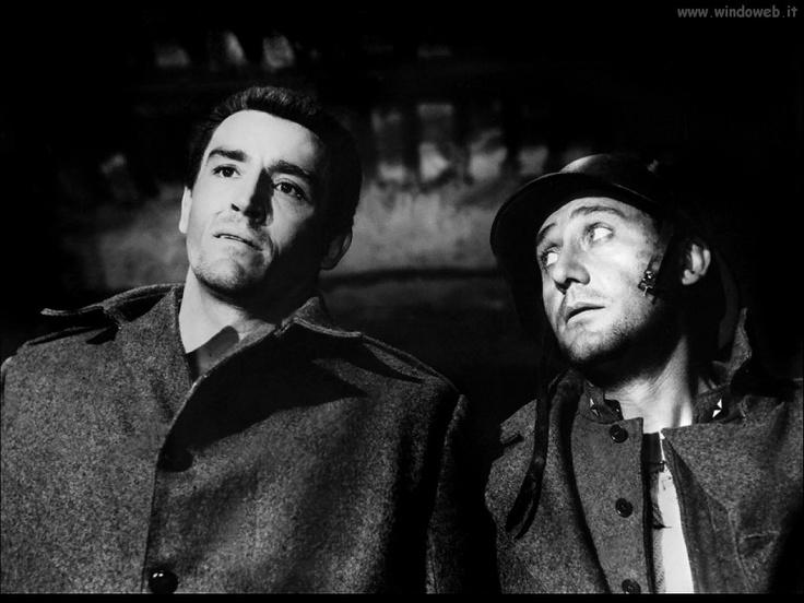 """Vittorio Gassman e Alberto Sordi (""""La Grande Guerra"""" di Mario Monicelli)"""